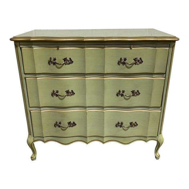 1970s Vintage Permacraft French Provincial Chest For Sale