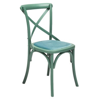 Nimes Chair in Green - a Pair For Sale