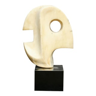 Unique Mid-Century Modern Marble Sculpture For Sale