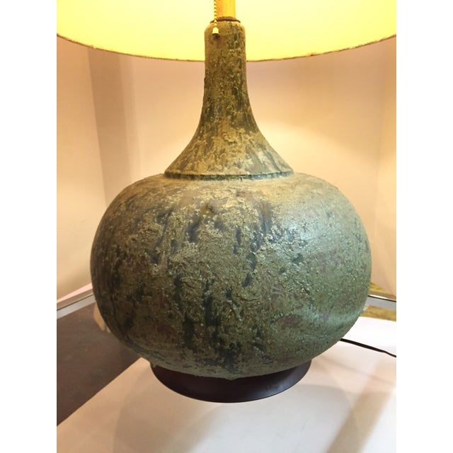 Monumental Lava Glaze Table Lamp - Image 4 of 5