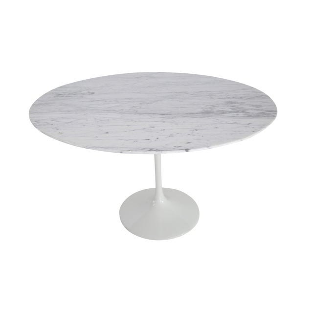 Tuilp Table in 70s Marble For Sale