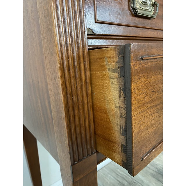 1950s Vintage Federal Style Cabinet For Sale In Phoenix - Image 6 of 12