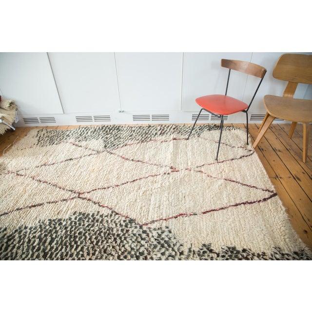 "Vintage Moroccan Carpet - 5'6"" X 8'3"" - Image 8 of 10"