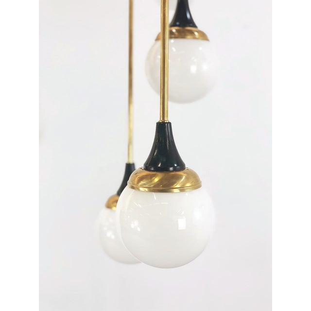 Contemporary 6th Century Style Chandelier in 16 Lights For Sale - Image 3 of 6
