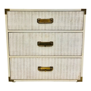 Vintage Hollywood Regency Style Bachelors Chest For Sale
