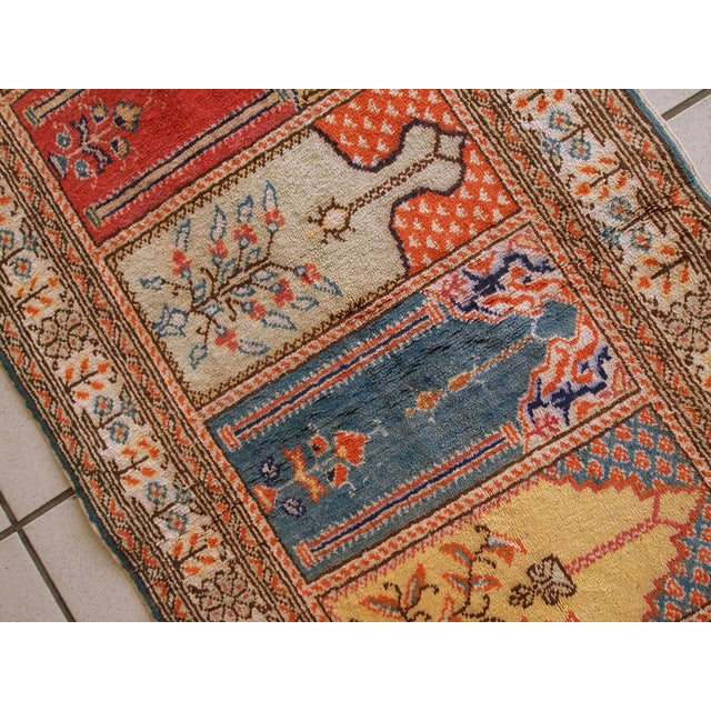 1960s Handmade Turkish Kayseri Runner - 2' X 5.6' - Image 4 of 10