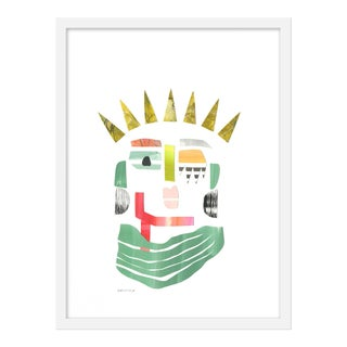 "Medium ""Lady Liberty"" Print by Melvin G., 18"" X 24"" For Sale"
