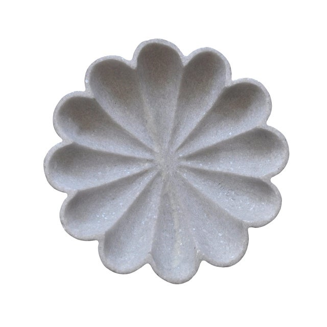 Marble Flower Bowl For Sale