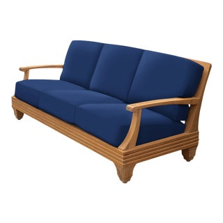 Giati Palazzio Sofa in Pacific Blue For Sale