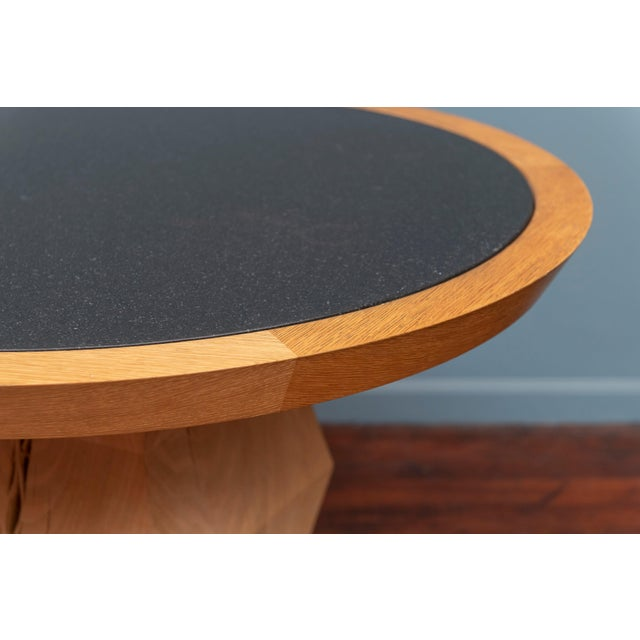 Christian Liaigre Yquem Pedestal Table For Sale In San Francisco - Image 6 of 9