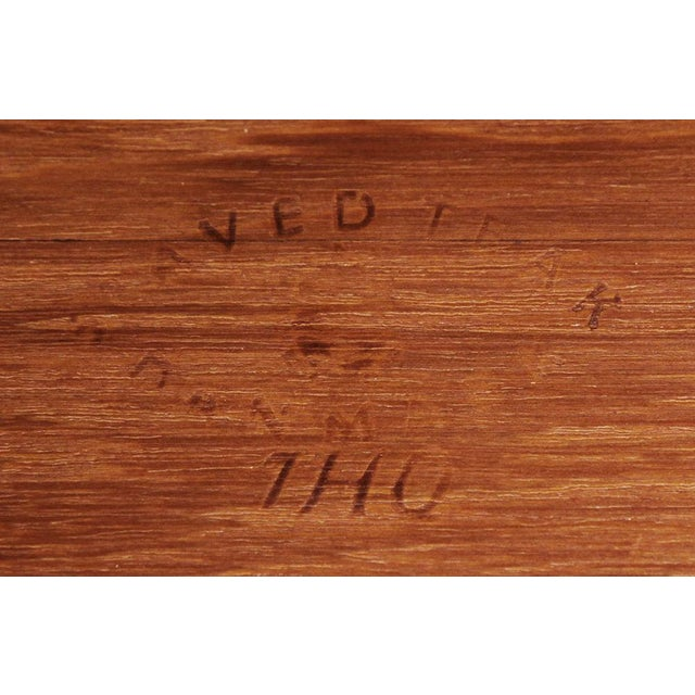 Danish Modern Pair of Staved Teak Occasional Tables by Jens Quistgaard For Sale - Image 3 of 4