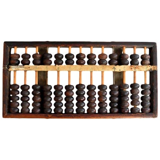 Early 20th Century Antique Chinese Abacus For Sale