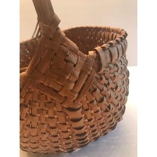 Antique Egg Gathering Woven Basket Preview