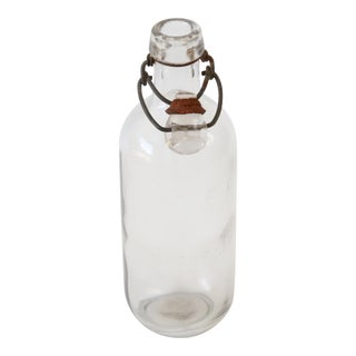 Clear Glass Apothecary Bottle