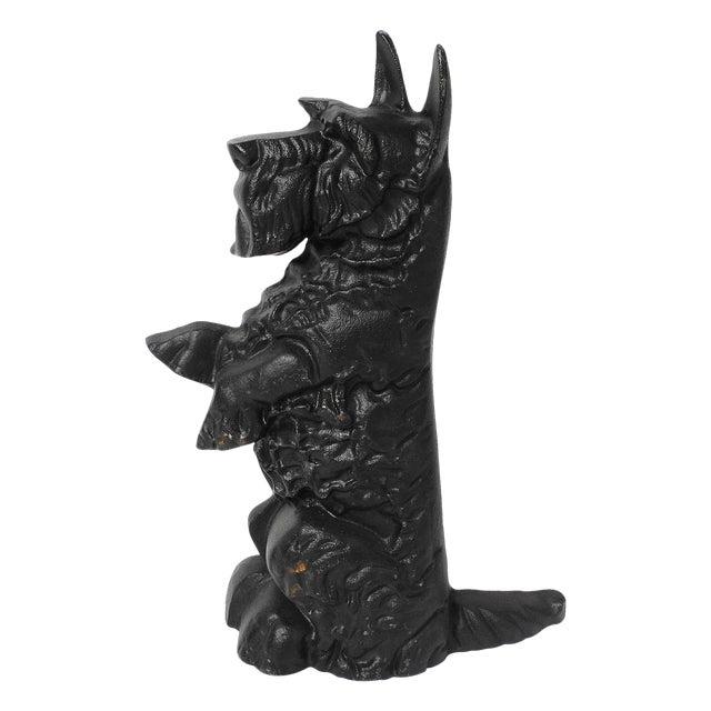 Black Cast Iron Scottie Dog - Image 1 of 5