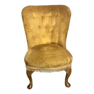 Queen Anne Slipper Chair