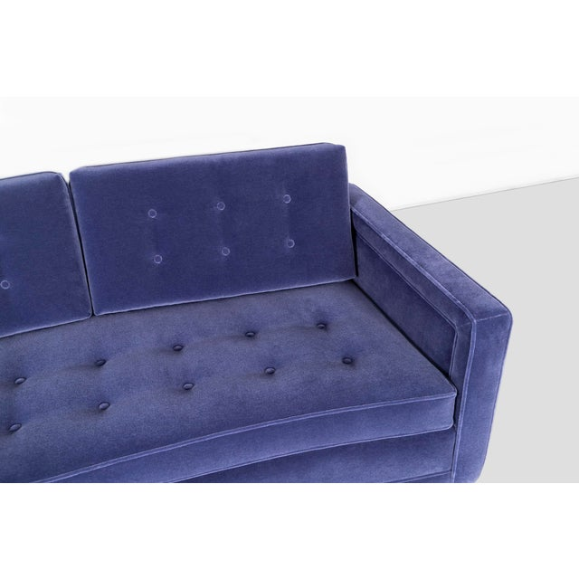 Pair of Harvey Probber Curved Sofas For Sale - Image 9 of 10