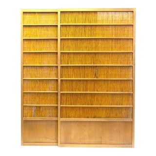 Japanese Sugi Cedar Yoshido Doors - a Pair For Sale