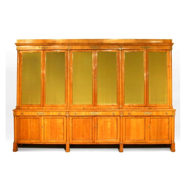 19th Century Large 19th C. Austrian Biedermeier 12 Door Cabinet For Sale - Image 5 of 5
