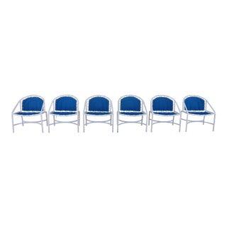 Vintage Brown Jordan Chairs - Set of 6 For Sale