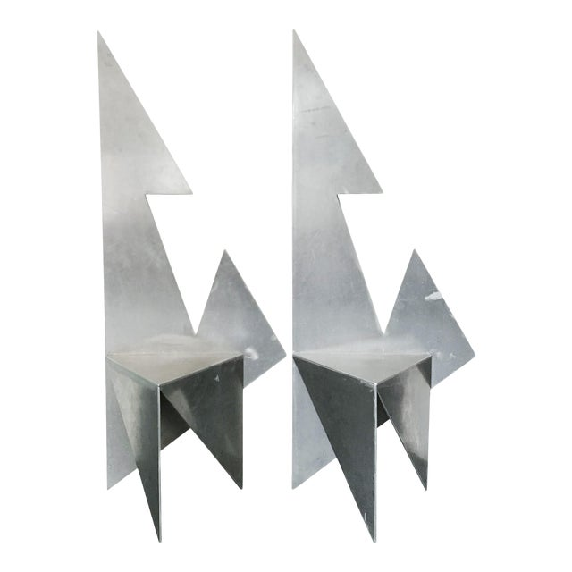 Vintage Space Age Chairs - a Pair For Sale