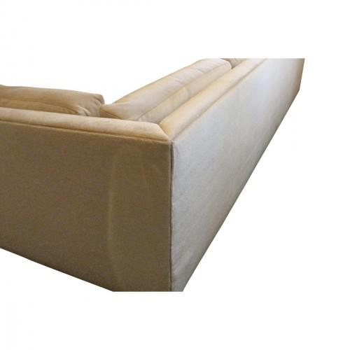 Contemporary Custom Donghia Mohair Sofa For Sale - Image 3 of 5