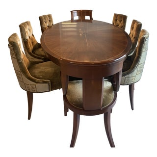 21st Century Dining Table and Chairs by Baker For Sale