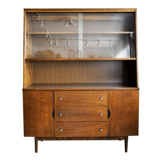 Stanley Furniture Mid-Century Modern Hutch For Sale