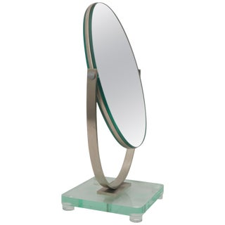 Oval Dressing Table Mirror For Sale