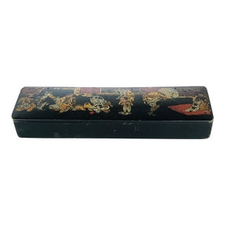 19th Century Chinoiserie Pencil Case For Sale