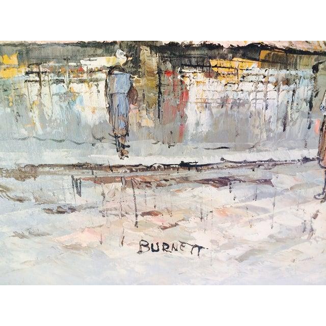 Caroline Burnett Street of Paris Oil Painting - Image 4 of 7
