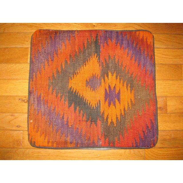 Vintage Kilim Pillow Cases - Set of 4 For Sale - Image 4 of 6