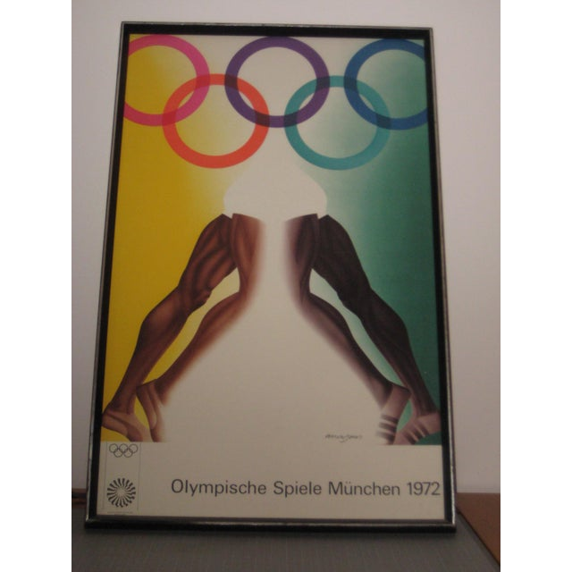 1972 Olympic Games Munich Original Poster by Allen Jones For Sale - Image 6 of 6