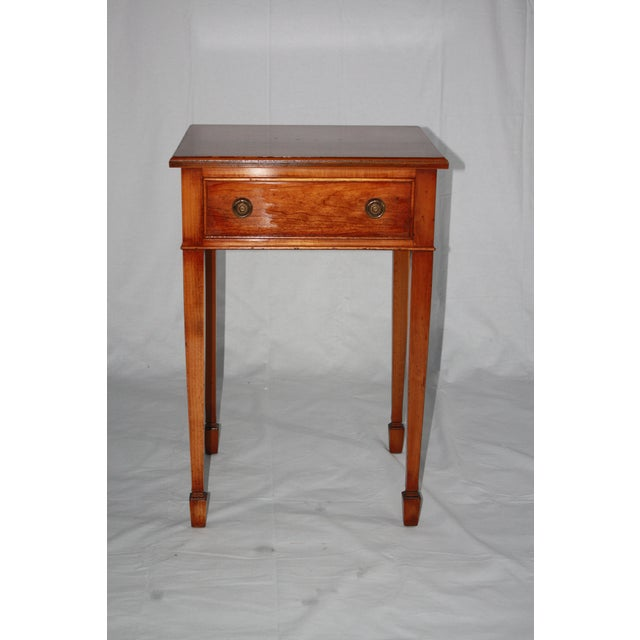 Yorkshire House Reproduction 19th-Century Side Table - Image 5 of 6