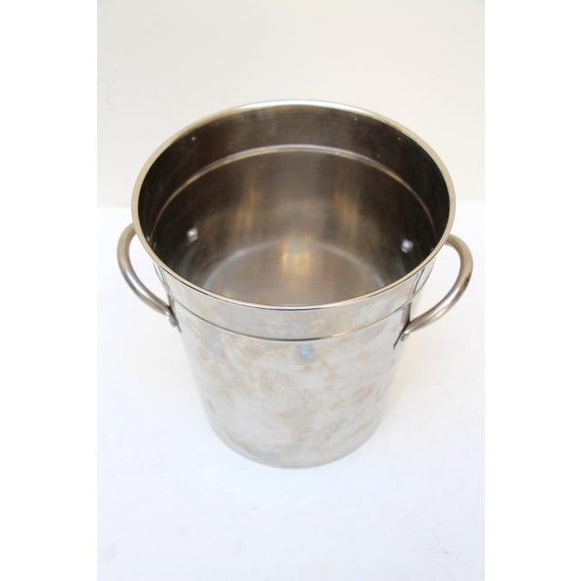 Silverplated Ice Bucket with Handles - Image 4 of 7