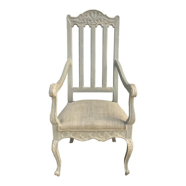 19th Century Louis Philippe French Arm Chair For Sale