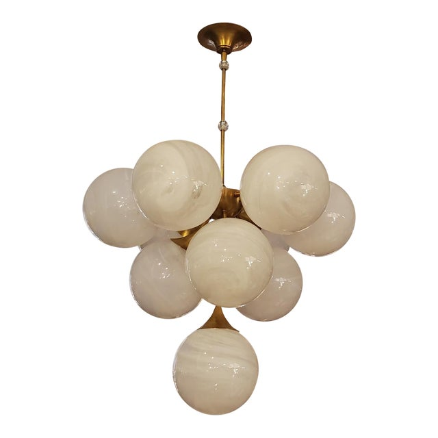 Visual Comfort Cristol Tiered Chandelier For Sale