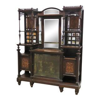 Victorian Aesthetic Mann Herter Sideboard For Sale