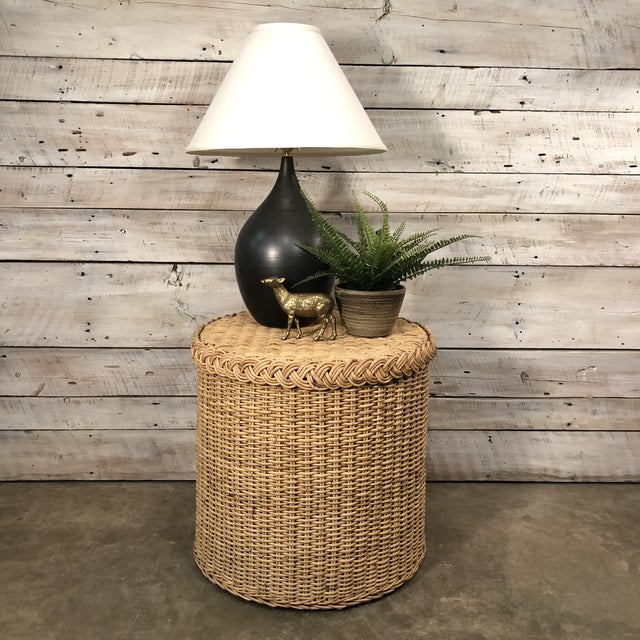 Mid-Century Style Hand Thrown Pottery Lamp by George Scatchard