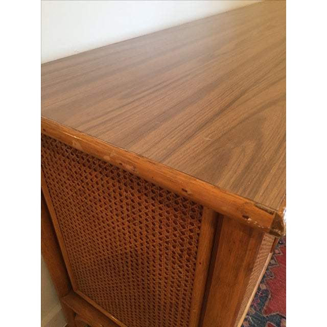 Vintage Rattan Buffet - Image 6 of 11