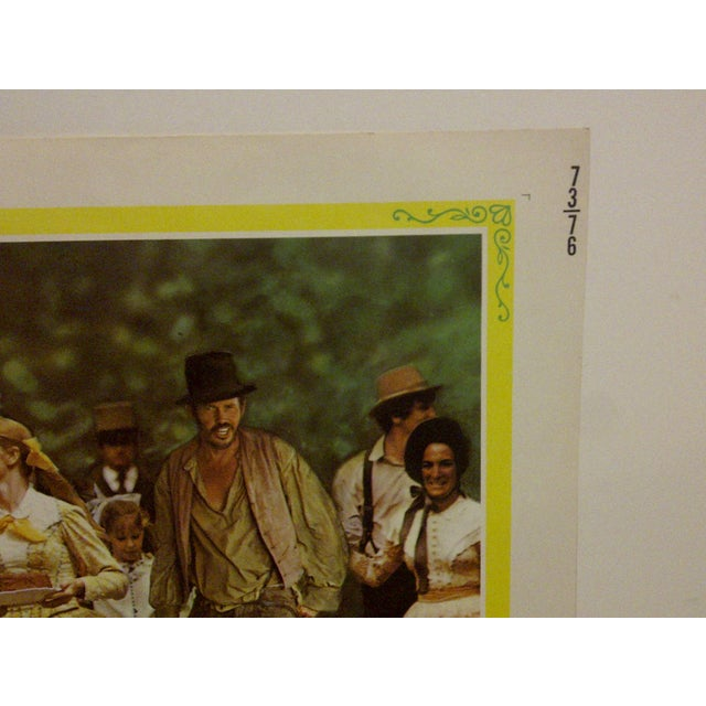 "Vintage Movie Poster A Musical Adaptation of Mark Twains ""Tom Sawyer"" 1973 For Sale - Image 5 of 6"