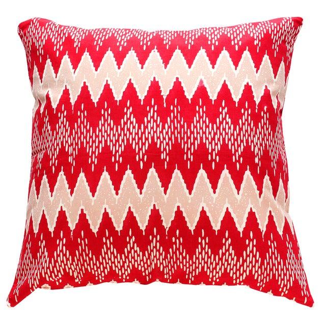 Rose Gili Pink Batik Pillow Cover - Image 1 of 2