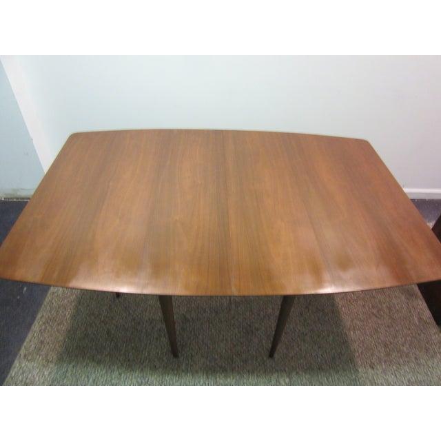 Mid-Century Danish Modern Walnut Dining Table - Image 8 of 10