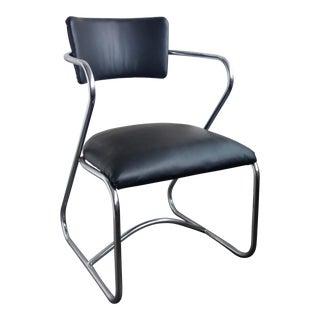 Vintage Art Deco Industrial Chair For Sale