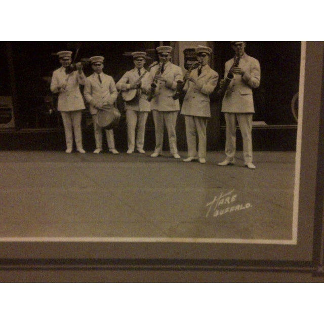 """Vintage """"S.S. Leviathan Steamship Liner Band"""" Photograph For Sale - Image 4 of 5"""