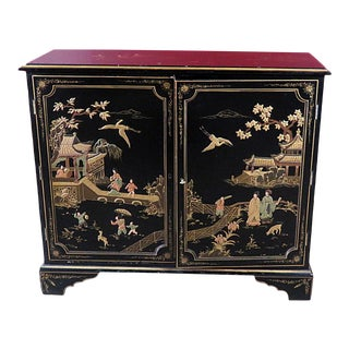 Georgian Furniture Company Chinoiserie Commode For Sale