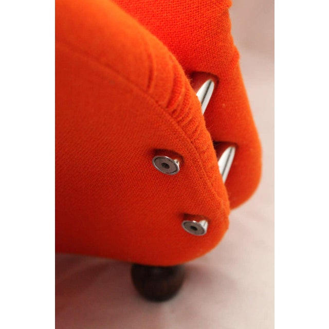 Orange Verner Panton Chaise For Sale - Image 8 of 9