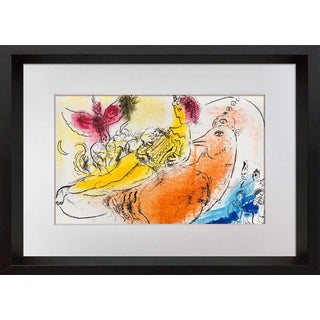 Marc Chagall Limited Edition Original Lithograph, 1957 with Archival Framing For Sale