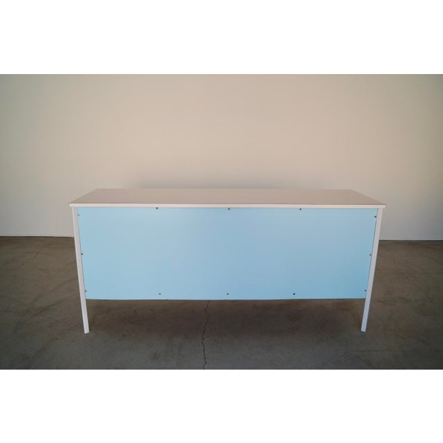 Metal Mid-Century Modern Vista of California Dresser For Sale - Image 7 of 13