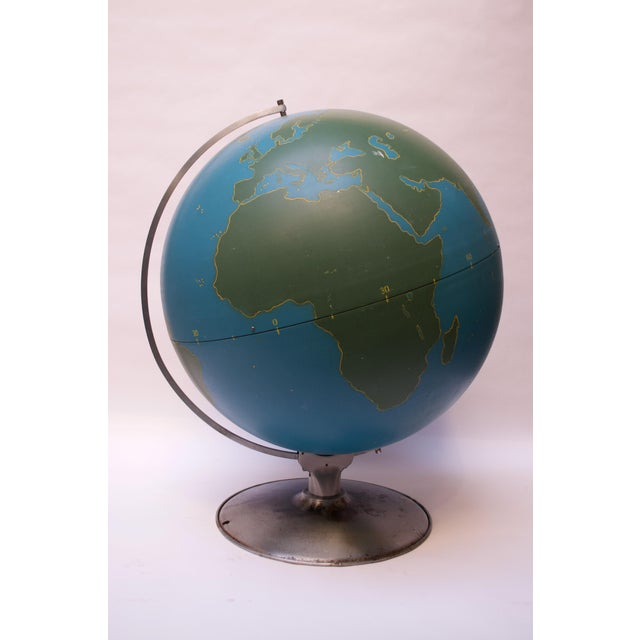 Large-Scale Vintage Military Globe / Activity Globe by a.j. Nystrom For Sale - Image 13 of 13
